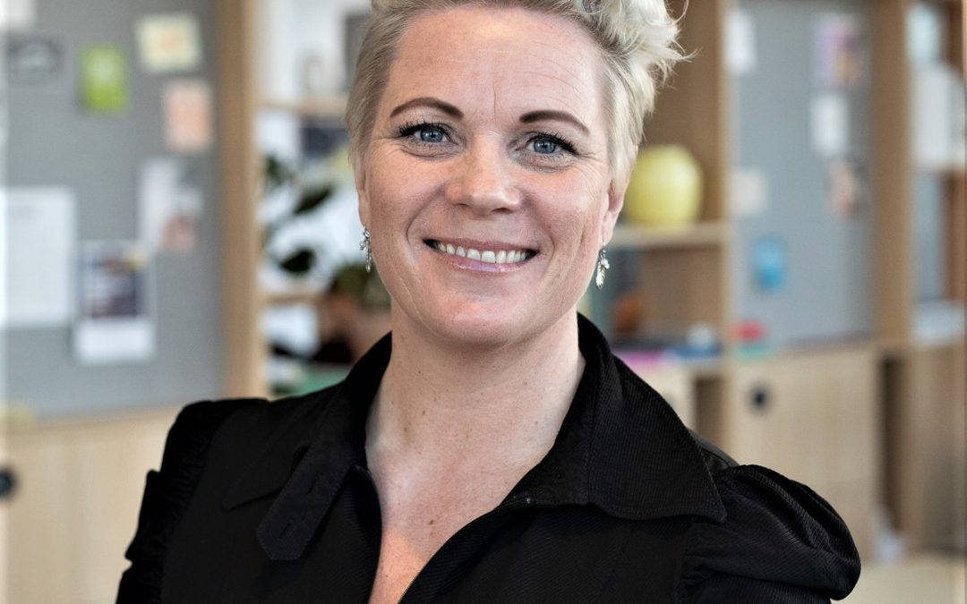 Maria Benholm älskar sitt jobb som rekryterare